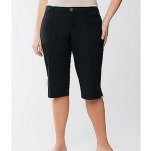 Black Capris Lane Bryant